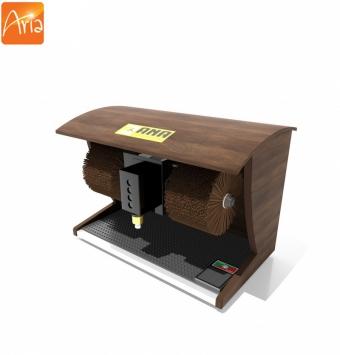 دستگاه واکس کفش خانگی مدل چوبی