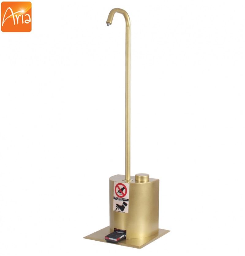 دستگاه ضد عفونی کننده پدالی طلایی